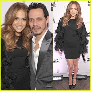 Jennifer Lopez & Marc Anthony: Montblanc Party!