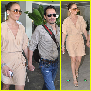 Jennifer Lopez & Marc Anthony: Puerto Rican Relaxing