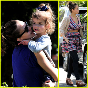 Jessica Alba & Honor Warren: Coldwater Cuties!