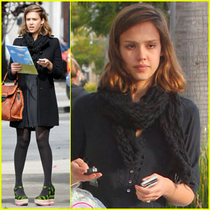 Jessica Alba: Pre-School & Pillows