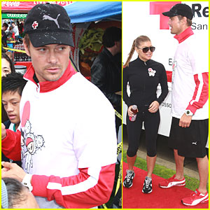 Josh Duhamel Hosts Tokidoki Relief Run