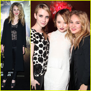 Emma Roberts & Juno Temple: 'Sucker Punch' Pair