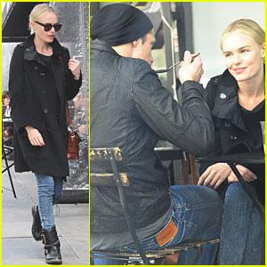 Alexander Skarsgard: Joan's on Third with Kate Bosworth!