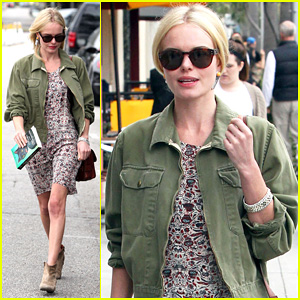 Kate Bosworth: Byron & Tracey Salon Visit!