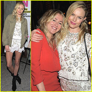 Kate Bosworth: Nylon Party!