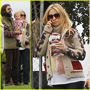 Kate Hudson: Family Time with Chris Robinson!