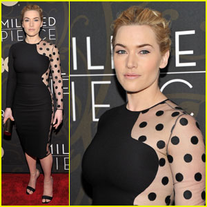 Kate Winslet Premieres 'Mildred Pierce'