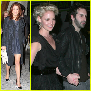 Katherine Heigl: Red O with Kate Walsh!