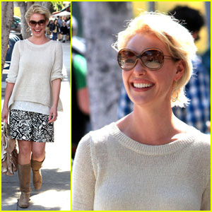 Katherine Heigl: Lunch at Larchmont Bungalow