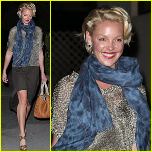 Katherine Heigl: Miami Dinner with Mom!