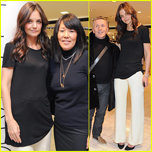 Katie Holmes: Holmes & Yang Fall 2011 Preview Event!