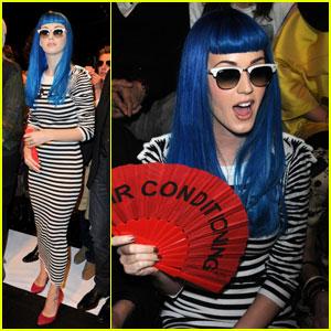 Katy Perry: Jean-Charles de Castelbajac Fashion Show!