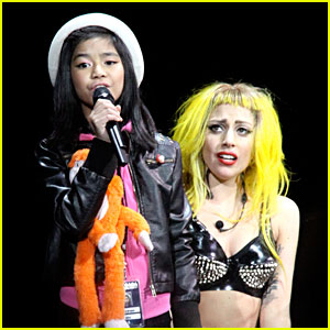 Lady Gaga Performs 'Born This Way' with Maria Aragon