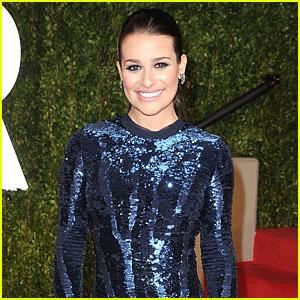 Lea Michele 'Fine' After Car Accident