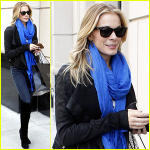 LeAnn Rimes: Chicago Chic!