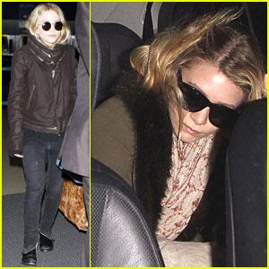 Mary-Kate & Ashley Olsen: LAX Landing