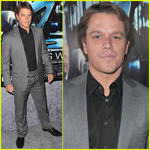 Matt Damon Does Things 'His Way'