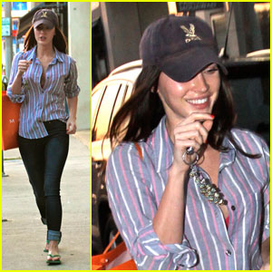 Megan Fox Makes It to Madison on Melrose