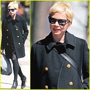 Michelle Williams: NYC Shopping Spree!