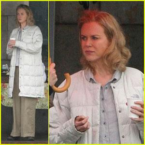 Nicole Kidman: Snack Break on 'Hemingway & Gellhorn'