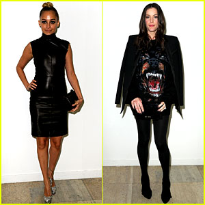 Nicole Richie & Liv Tyler: Givenchy Gals!