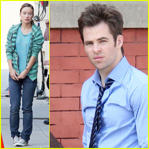 Chris Pine & Olivia Wilde: 'Welcome to People' Pair