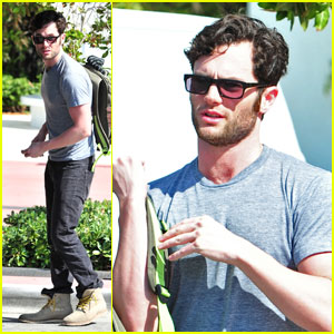 Penn Badgley Is A Miami Man