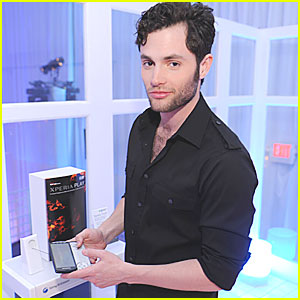 Penn Badgley: Sony Ericsson Xperia Play Launch!