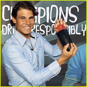 Rafael Nadal: Champions Drink Responsibly