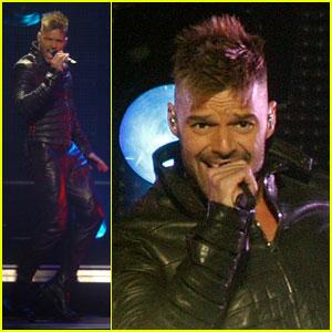 Ricky Martin Brings 'Musica + Alma + Sexo' to Puerto Rico