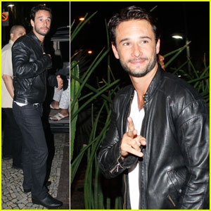 Rodrigo Santoro Hits Rio with Jamie Foxx & will.i.am