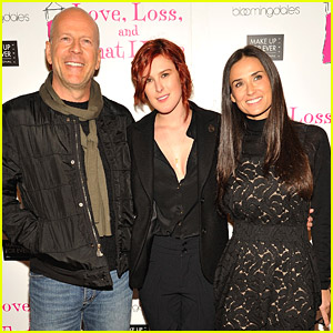 Rumer Willis Has Proud Parents