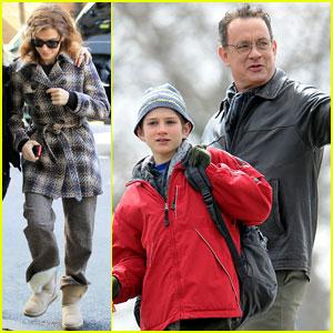 Sandra Bullock & Tom Hanks Get 'Extremely Loud'