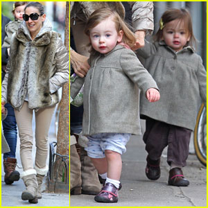 Sarah Jessica Parker: Birthday Stroll with the Twins!