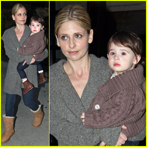 Sarah Michelle Gellar: Back to Work!