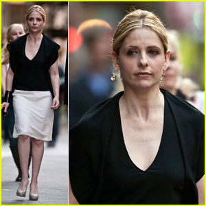 Sarah Michelle Gellar: 'Ringer' Filming in NYC