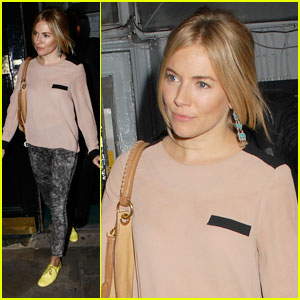 Sienna Miller: I Dream of Doing Couture!