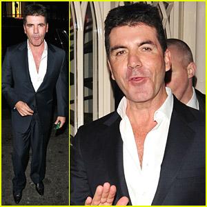 Simon Cowell: London Birthday Bash