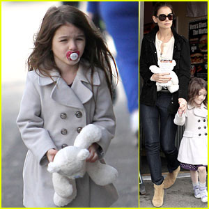 Suri Cruise: Katie Holmes' Hamburger Helper!