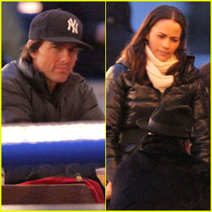 Tom Cruise & Paula Patton Shoot 'Mission: Impossible 4'