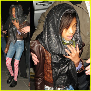 Willow Smith: Indian Food with the Family