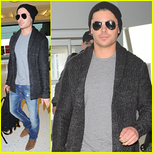 Zac Efron: Goodbye New York City!