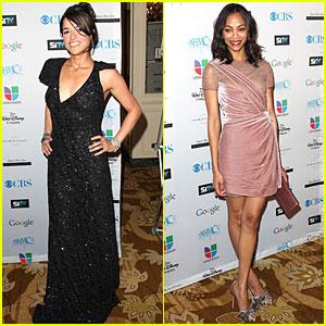 Zoe Saldana & Michelle Rodriguez: Impact Awards!