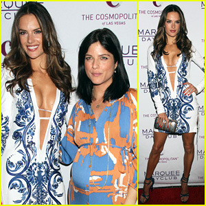 Alessandra Ambrosio: Marquee Opening with Selma Blair!