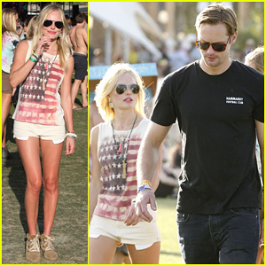 Alexander Skarsgard & Kate Bosworth: Coachella Duo!