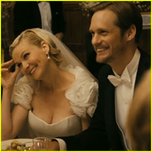 Alexander Skarsgard &#038; Kirsten Dunst: 'Melancholia' Trailer!