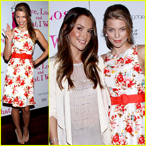 AnnaLynne McCord & Minka Kelly: 'Love Loss' Ladies!