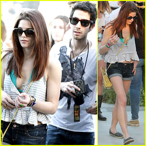 Ashley Greene: Coachella with Douglas Chabbott!