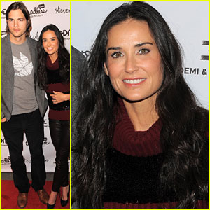 Ashton Kutcher & Demi Moore: Step Out For Freedom!