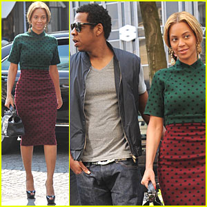 Beyonce & Jay-Z: Easter Brunch in Paris!